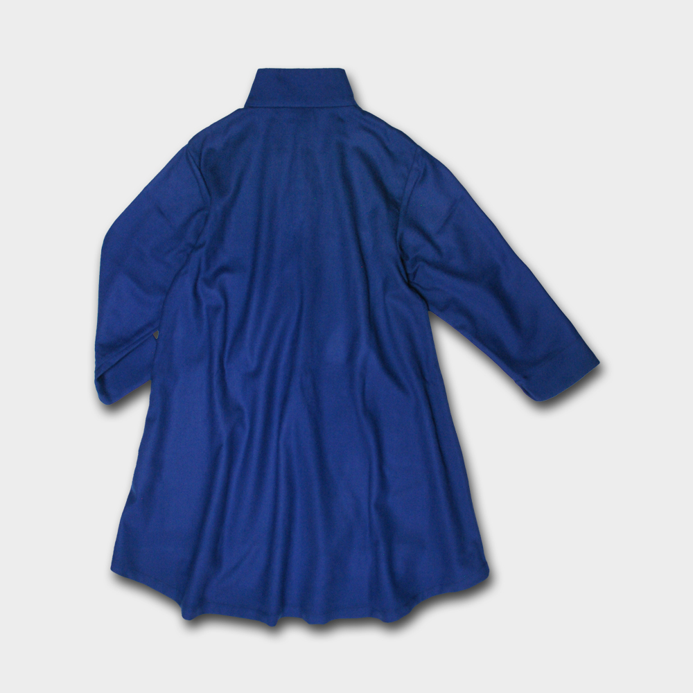 チャイナドレス風 ワンピース 半袖 きれいめ Aライン レース 花柄 9