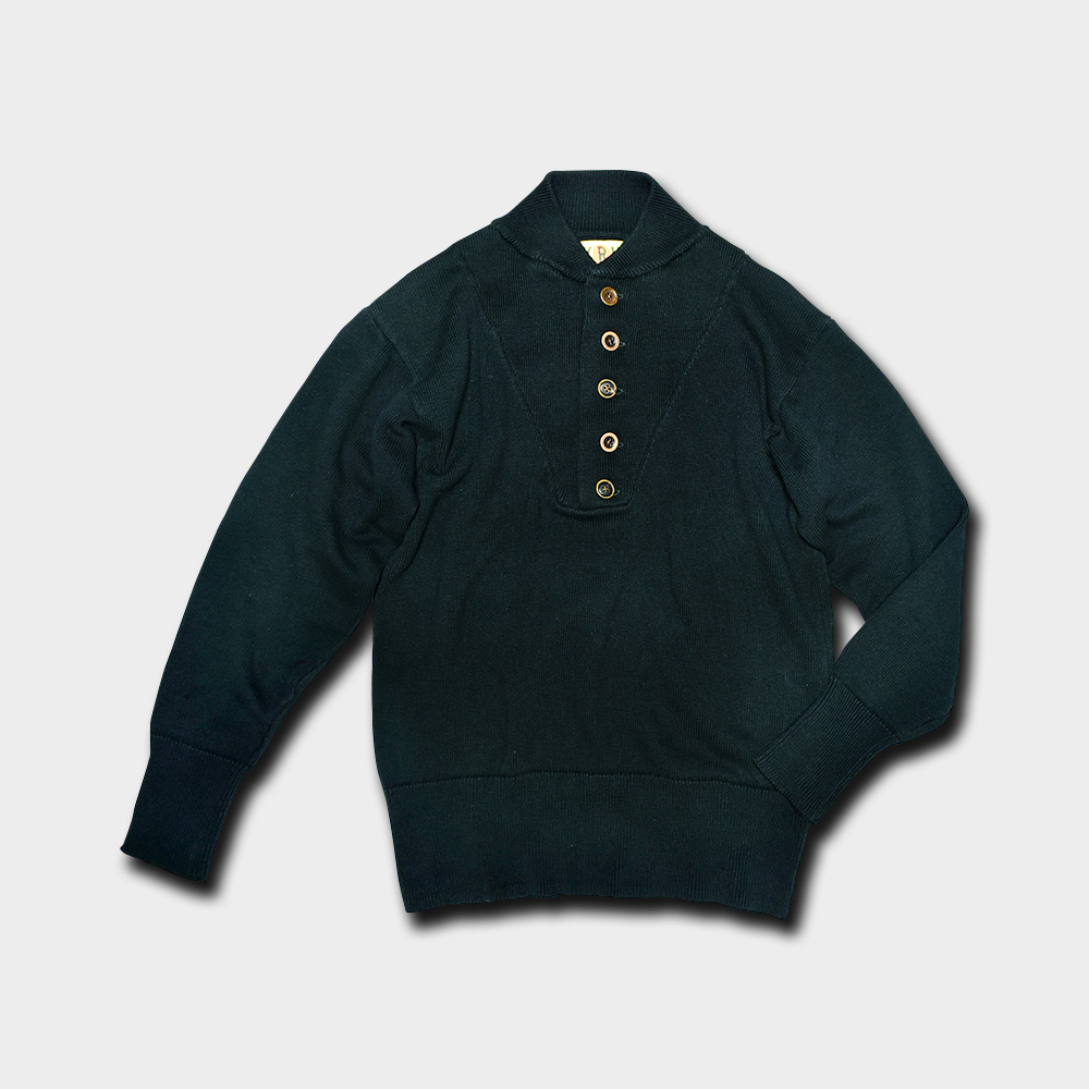 5-Button Pullover Sweater