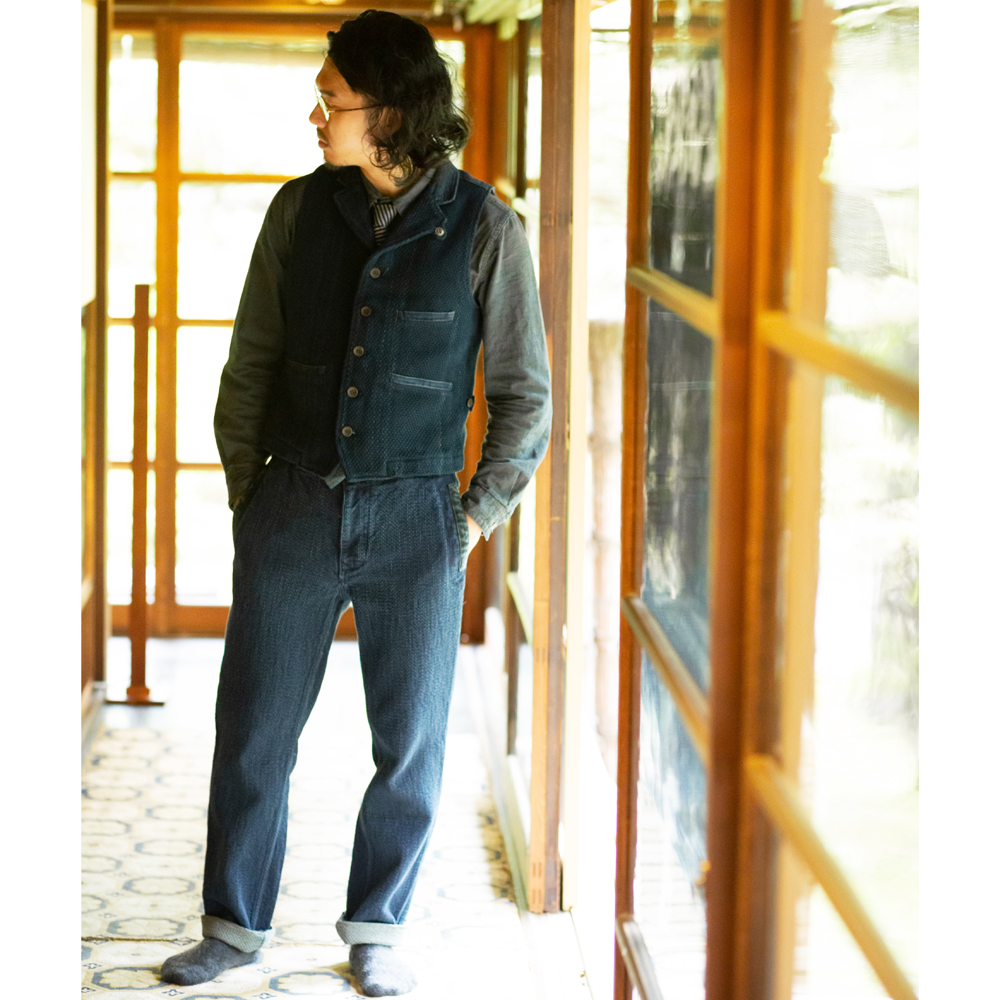 SASHIKO Work Pants